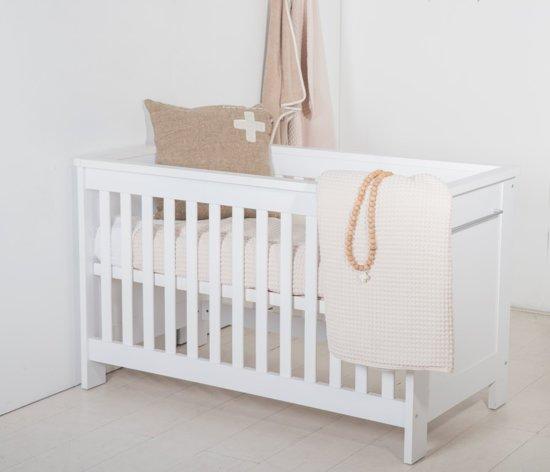 Cabino - Babykamer Noel- 3-delige - Ledikant - Commode - Kledingkast - Wit