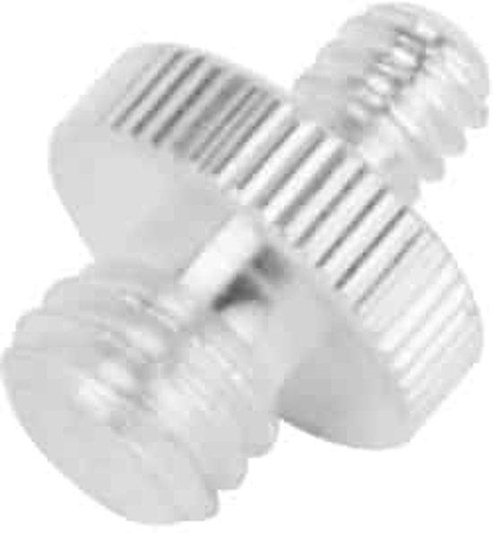 1/4 tot 3/8 Roestvrijstalen schroef voor statiefkoppen (zilver)