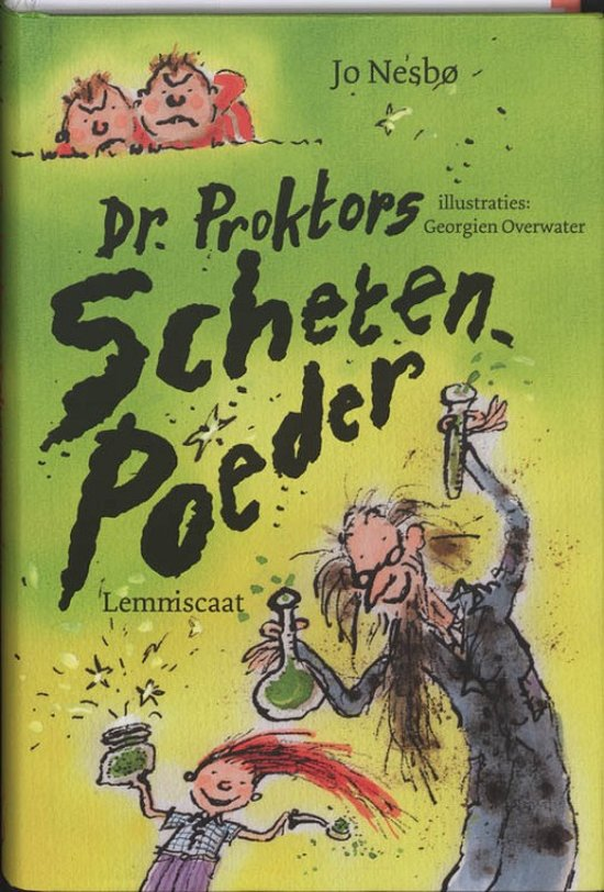 Boek cover Dr. Proktors Schetenpoeder van Jo NesbØ (Hardcover)