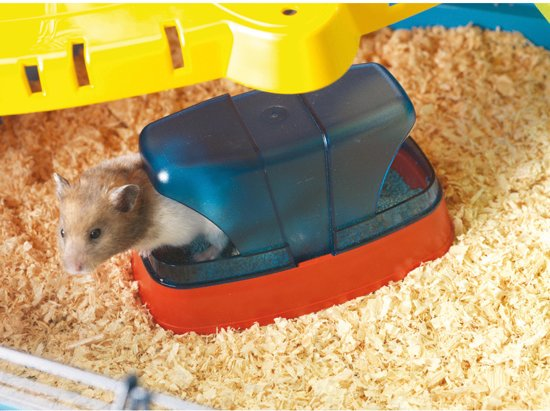 Navulling hamsterwc - savic