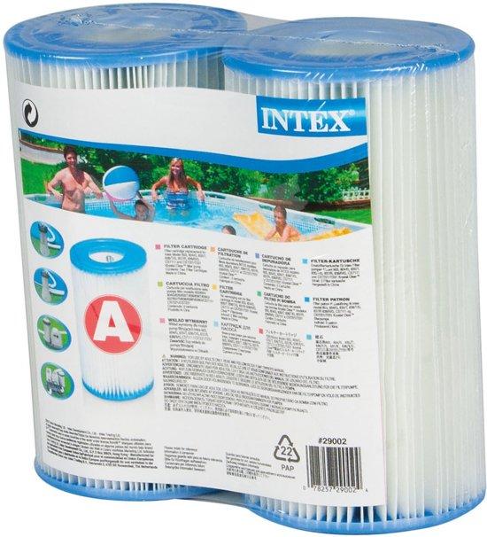Afbeelding van Intex Zwembad Filtercartridge Type A - 29000/59900 -  2 stuks