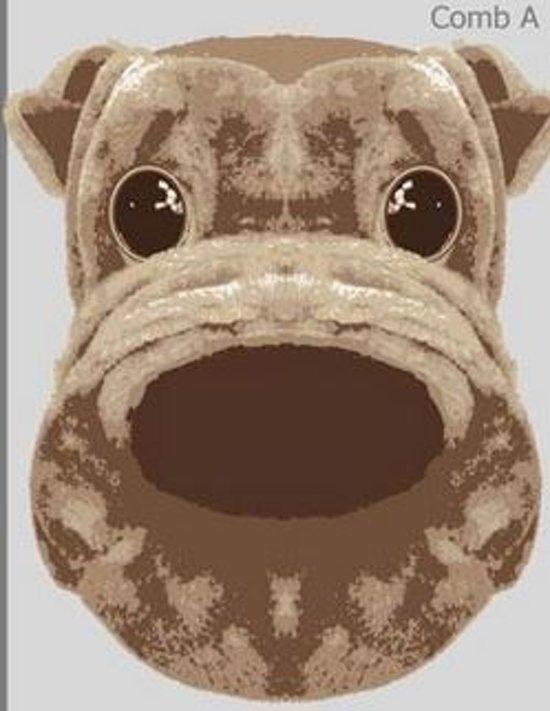Dierenpantoffel Hond bruin Maat 43/44