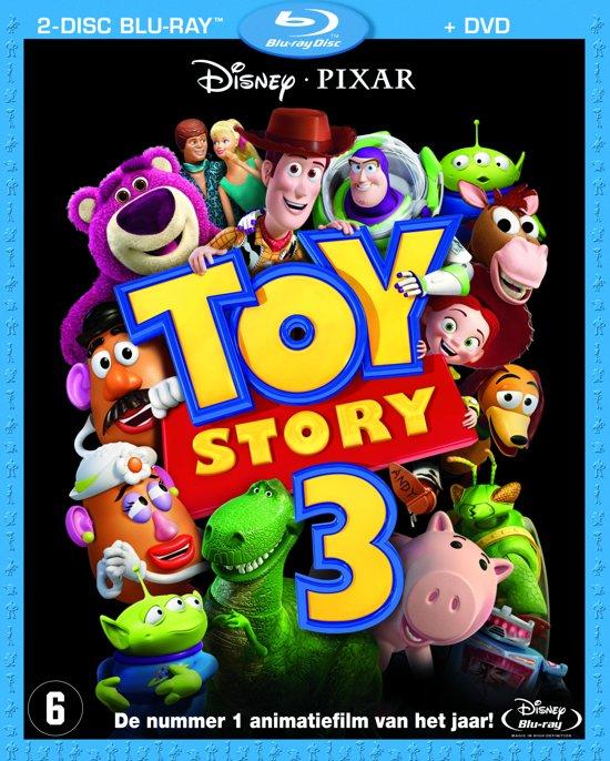 DVD cover van Toy Story 3 (Blu-ray + Dvd)