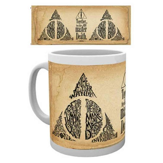 Harry Potter - Deathly Hallows Words Mug - Multicolor