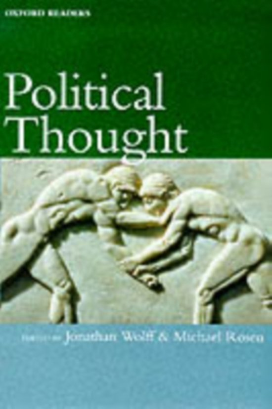 POLITICAL THOUGHT OR P