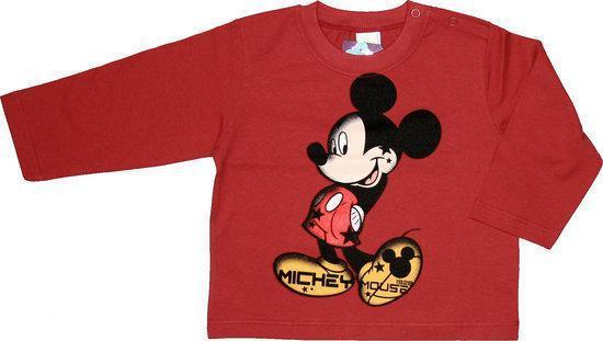 Disney Kersttrui.Bol Com Disney Mickey Mouse Jongens Longsleeve