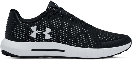 Under Armour Micro G Pursuit SE Sportschoenen Heren - Zwart - Maat 43