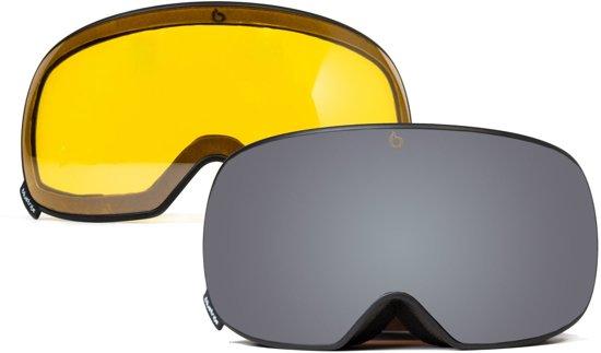 Ultra Black | Skibril- Snowboard Bril