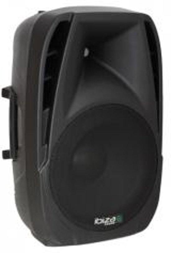 """Ibiza Sound BT8A - Actieve bluetooth speaker - 8"""" 300W met USB & SD speler"""