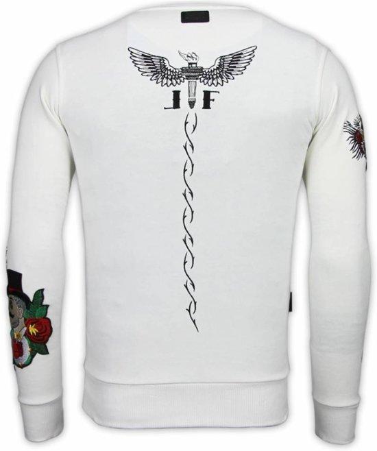 Fanatic Notoriuous Embroidery Xl Tattoo Local Wit Mcgregor Maten Sweater vnx6vUdZ