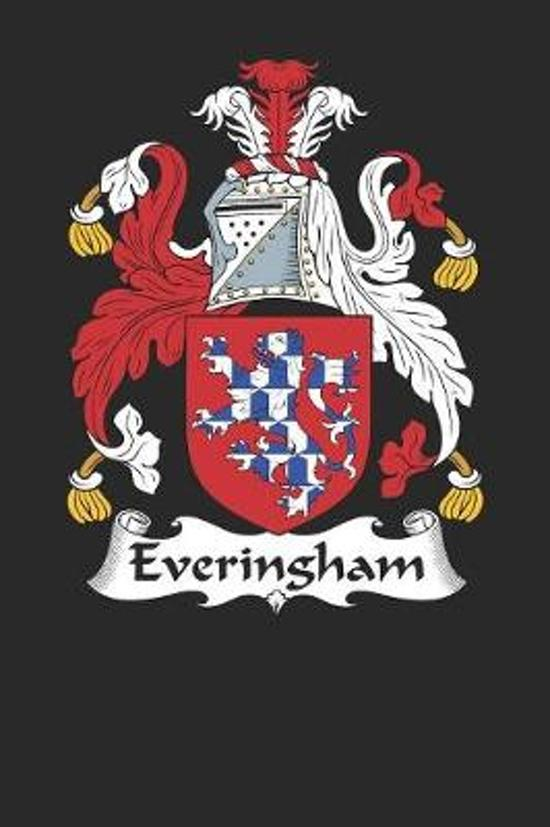 Everingham: Everingham Coat of Arms and Family Crest Notebook Journal (6 x 9 - 100 pages)