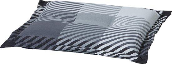 Madison Hockerkussen (voetenbank) Multi grey 50x50cm