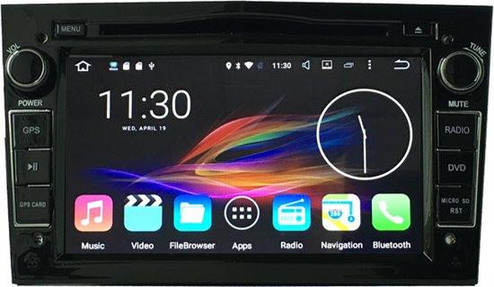 Opel astra GTC DAB+ look autoradio met navigatie usb aux touchscreen GRIJS