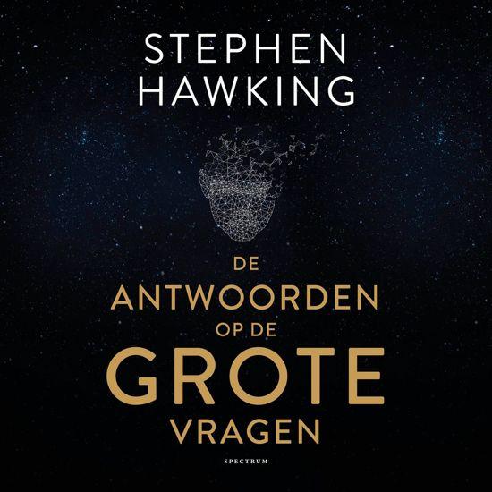 Boek cover De antwoorden op de grote vragen van Stephen Hawking (Onbekend)