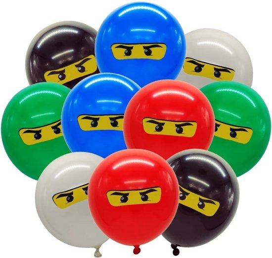 Lego Ninjago Verjaardag.10x Lego Ninjago Ballonnen 30 Cm Party Feestje Verjaardag