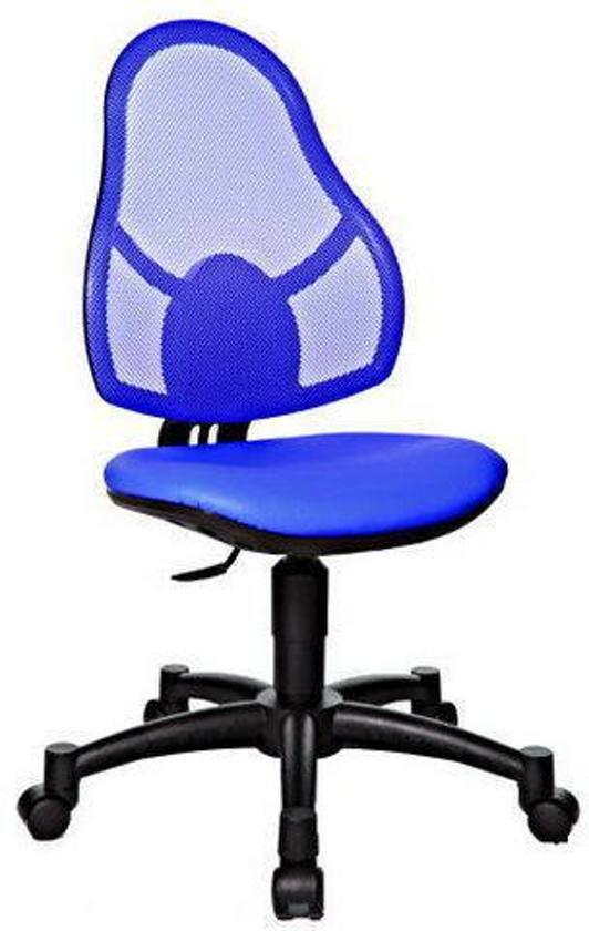 Bureaustoel Kind Blauw.Bol Com Topstar Open Art Junior Bureaustoel Kinder Zwart Blauw