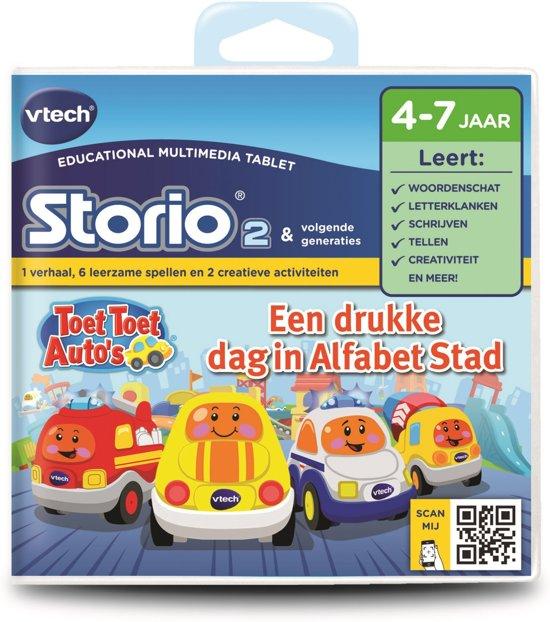Bol Com Vtech Storio 2 Toet Toet Auto S Game Vtech Speelgoed