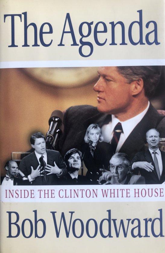 Boek cover The Agenda van Bob Woodward (Hardcover)