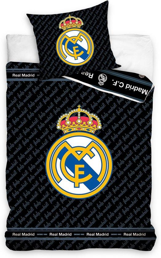 Real Madrid dekbed zwart 140 x 200