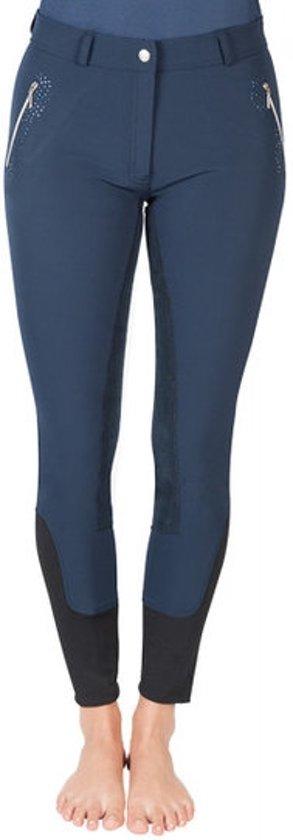 PFIFF rijbroek met volledig versterkt zitvlak Indira 48 Donkerblauw