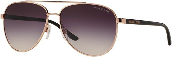 2964b43544d7a2 Michael Kors Zonnebril - Aviator -Grey Rosé Gradient - Hvar MK5007