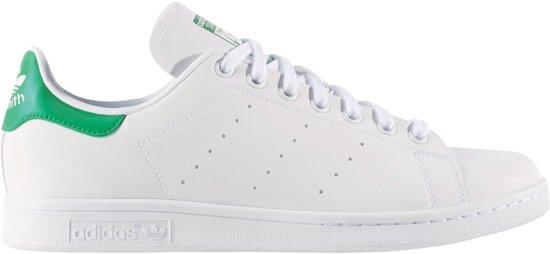 adidas Stan Smith Sneakers - Maat 44 2/3 - Mannen - wit/groen