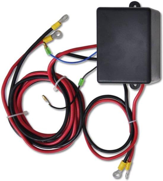 Elektrische lier 12V 1360 KG met draadloze afstandsbediening