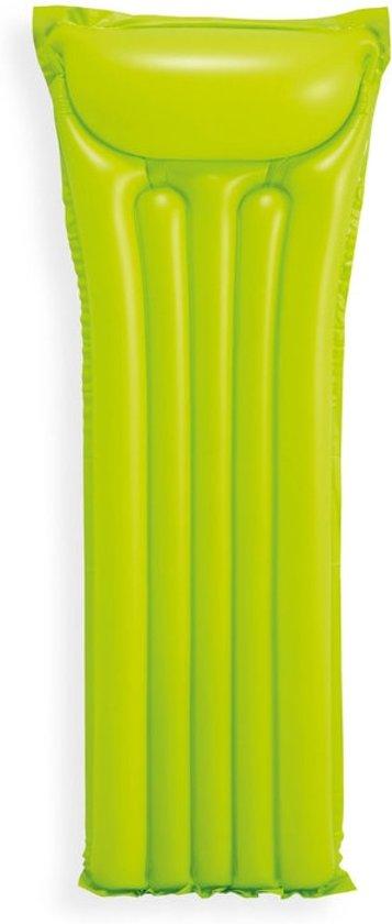 3 Kleuren Zwembad Luchtbedden Set - 3 Stuks 183x69 cm - Roze, Groen en Blauw