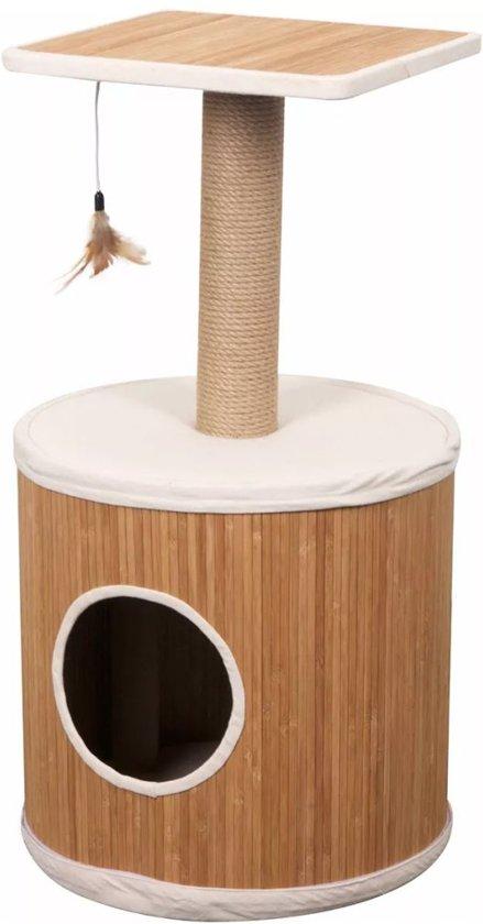 FLAMINGO Katten krabpaal Bamboo bruin 77 cm 560376