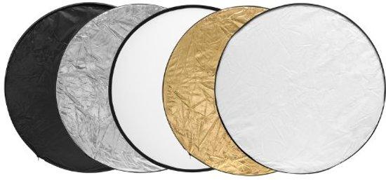 Lumaland - Reflectiescherm - Set van 5 - Rond - Ø 80cm