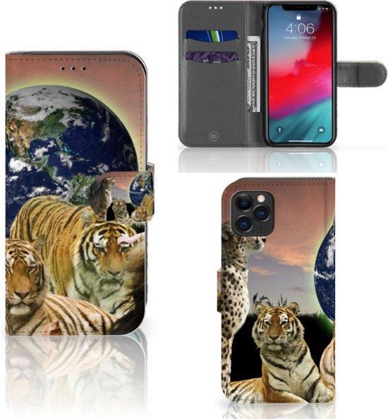 iPhone 11 Pro Telefoonhoesje met Pasjes Roofdieren