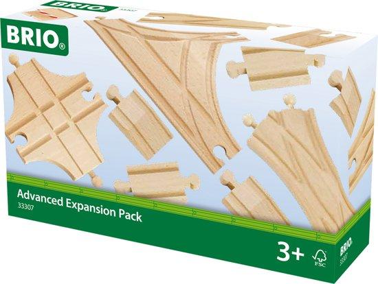 BRIO Rails uitbreidingsset voor experts - 33307