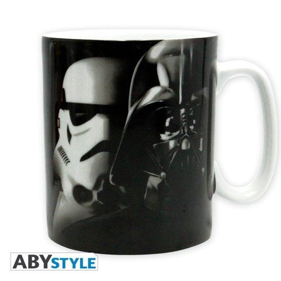 ABYstyle Star Wars Vador Troopers Zwart, Rood, Wit Universeel 1stuk(s) kopje