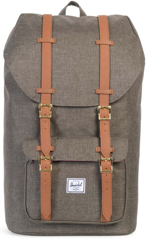 c04f8fe985f Herschel Supply Co. Little America Rugzak - Canteen Crosshatch / Tan  Synthetic Leather
