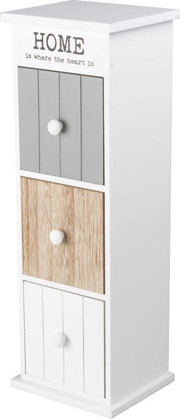 CABINET 13x11x37cm 3 drawers