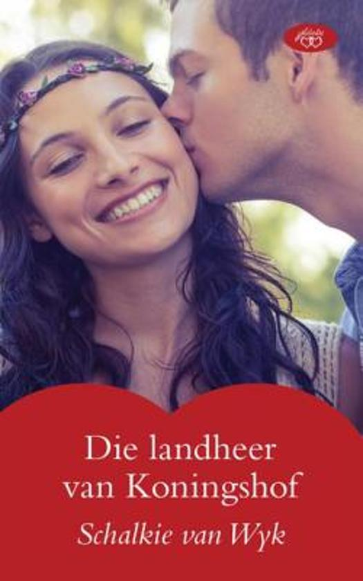 Boek cover Die landheer van Koningshof van Schalkie Van Wyk (Onbekend)