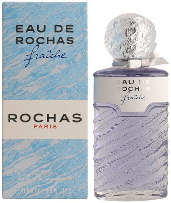 MULTI BUNDEL 3 stuks ROCHAS EAU FRAICHE Eau de Toilette Spray 100 ml
