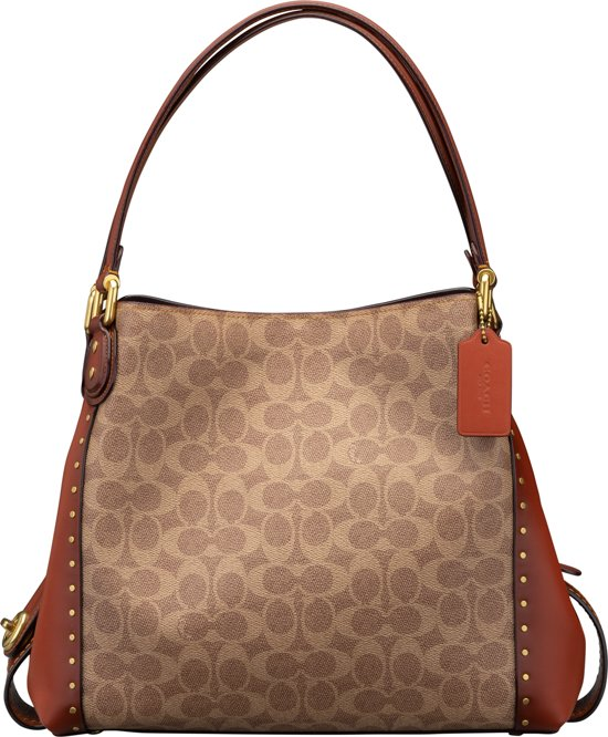 Canvas Edie Coach 31 SchoudertasRood Dames rxhCtsQd