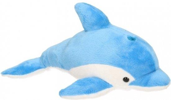 1ead530d806fe7 bol.com | Pluche blauwe dolfijn knuffel 33 cm, Semo | Speelgoed