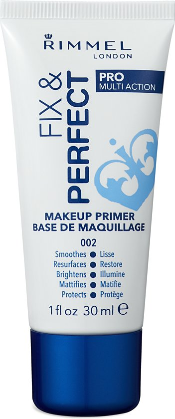 Rimmel London Fix & Perfect Pro Primer - 002 Transparent