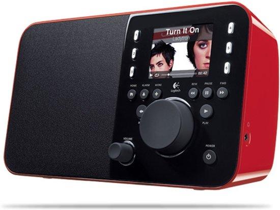 Logitech Squeezebox Radio - Rood