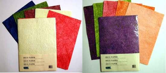Bolcom 2 Deco Papier Pakjes Totaal 25 Vellen A4 Formaat Voor