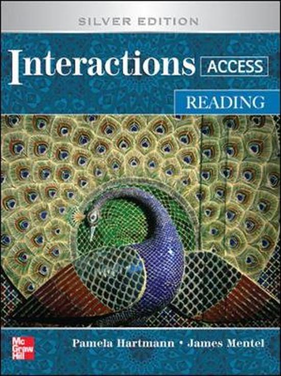 bol.com | Interactions Mosaic Reading Student Book