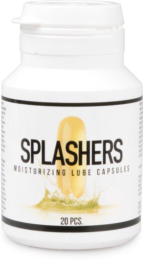 Splashers - Capsule Glijmiddel - 20 Stuks