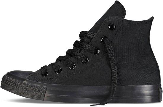 Monochrome Converse Chuck Maat 41 Star All Black Unisex Sneakers Taylor qpC0xTq