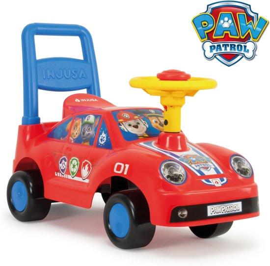 Injusa Loopauto Paw Patrol 60 Cm Rood/blauw