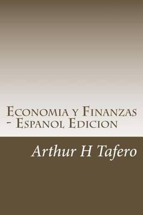Economia Y Finanzas - Espanol Edicion