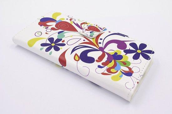 Samsung Galaxy S8+ Pasjeshouder Print Booktype hoesje - Magneetsluiting - Kunststof;TPU