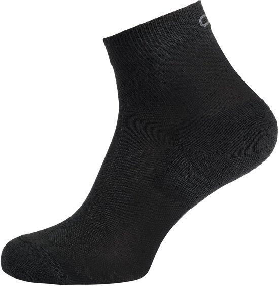 Odlo Socks Quarter Active Quater 2 Pack Sportsokken Unisex - Black