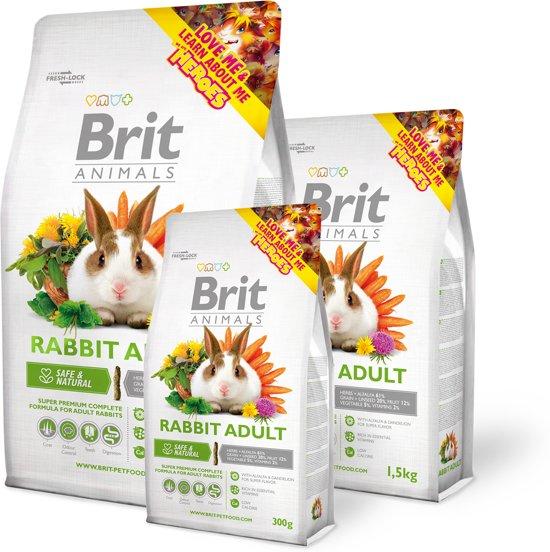 Brit animals adult konijn 1.5kg